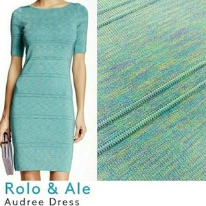 Rolo&Ale XS, Iridescent Rainbow Knit Mini